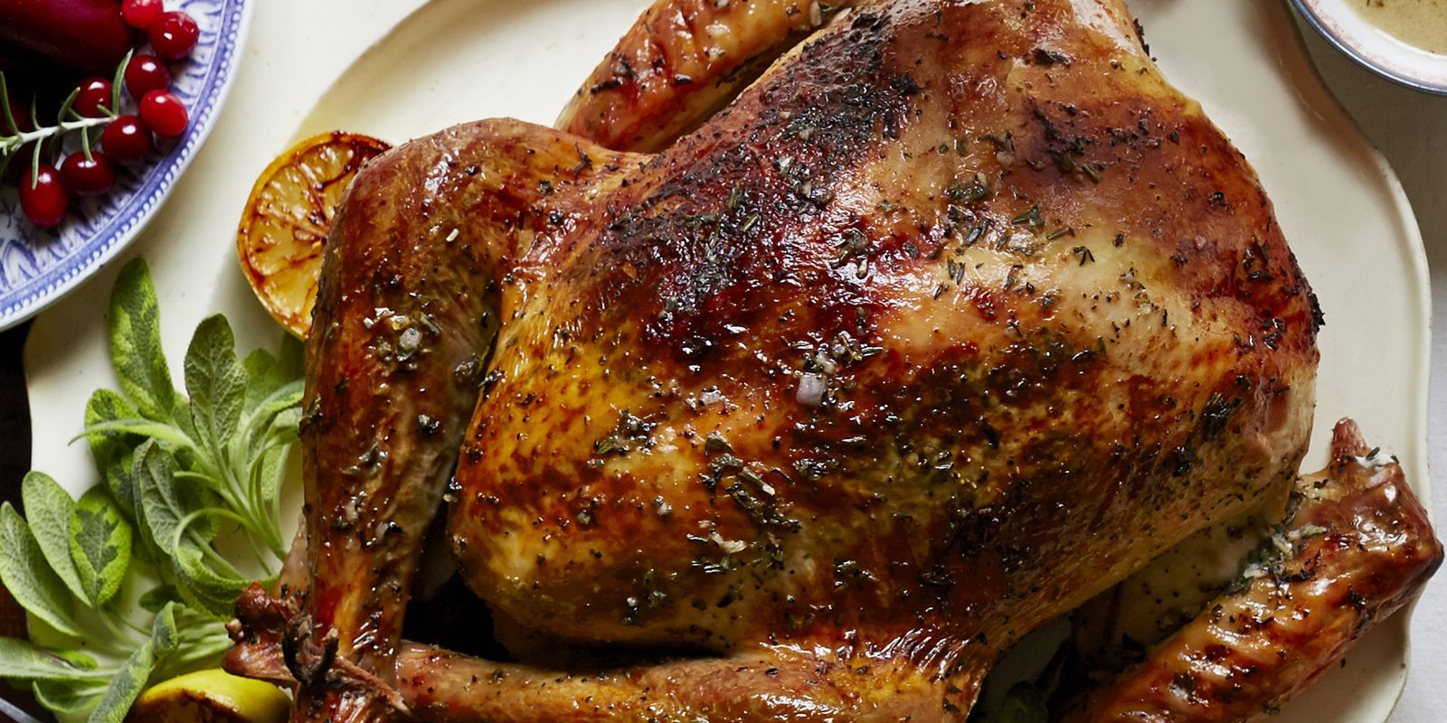Best Turkey Recipe For Thanksgiving  Herb and Citrus Butter Roasted Turkey Recipe