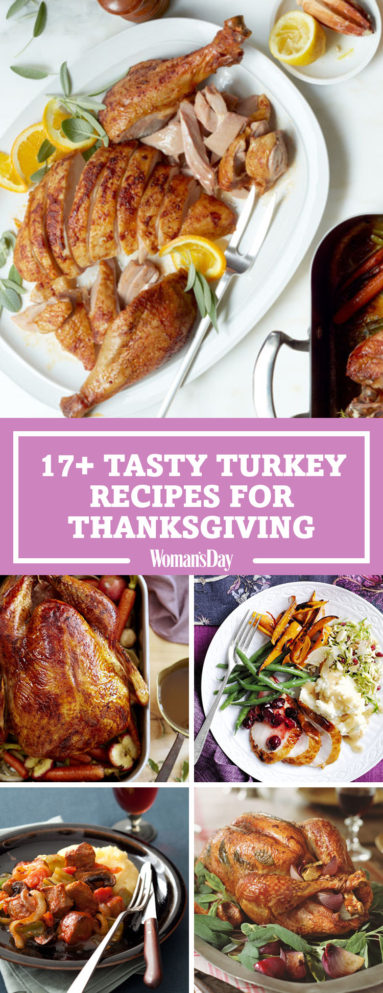 Best Turkey Recipe For Thanksgiving  20 Best Thanksgiving Turkey Recipes Easy Roast Turkey