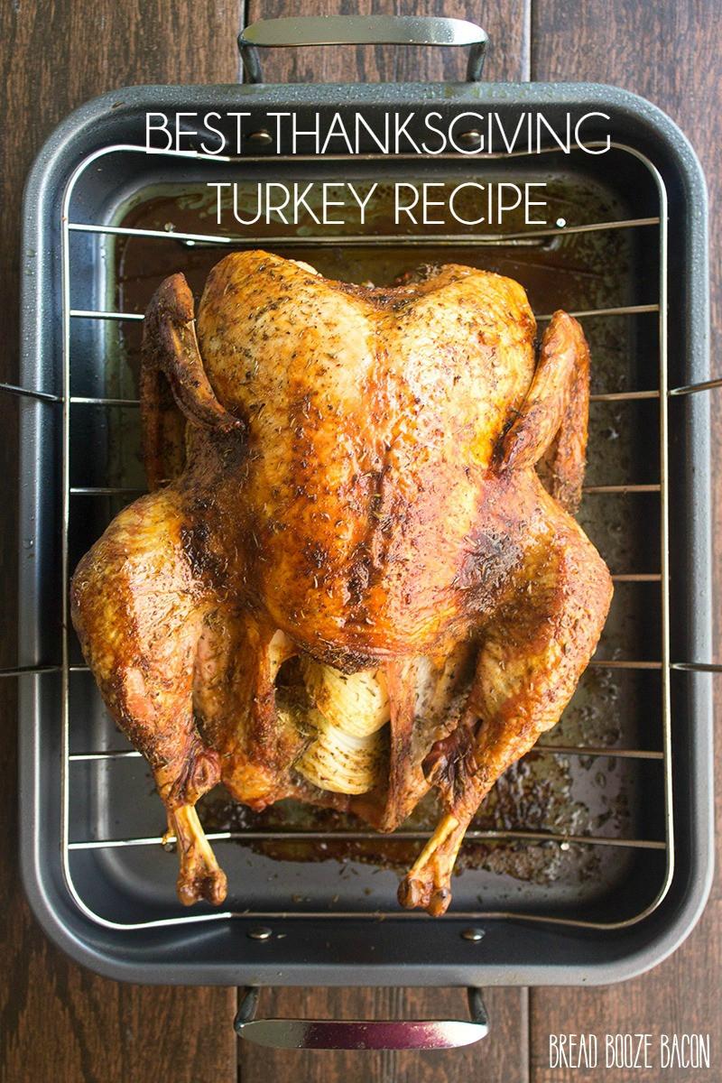Best Turkey Recipe For Thanksgiving  Best Thanksgiving Turkey Recipe Yellow Bliss Road
