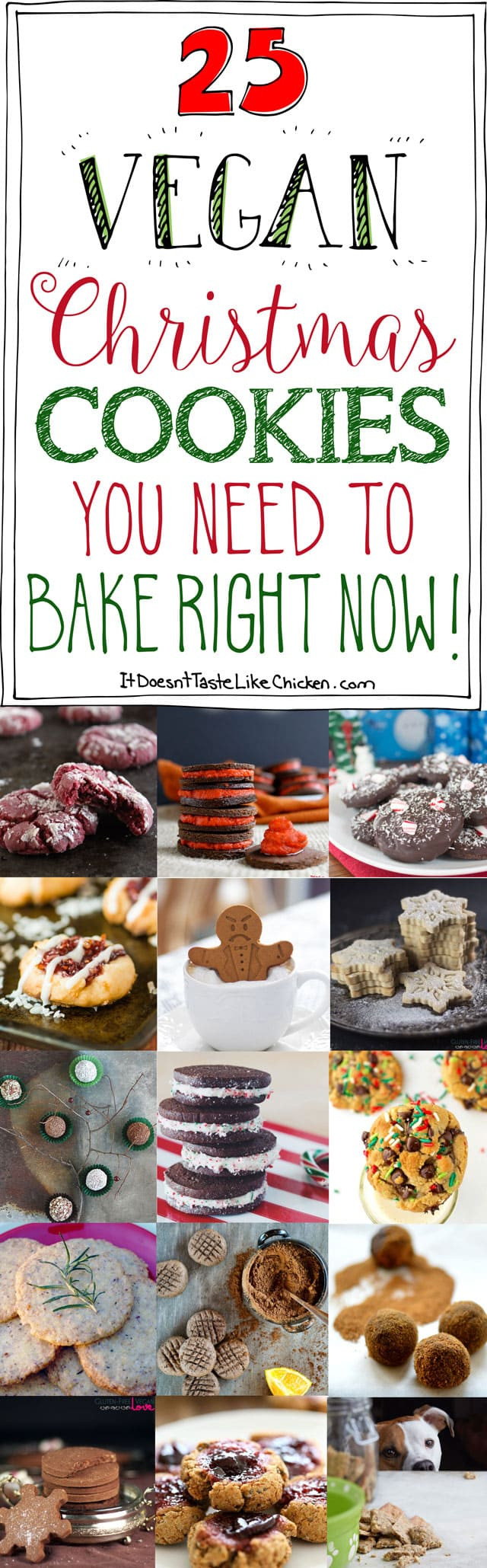 Best Vegan Christmas Cookies  25 Vegan Christmas Cookies You Need to Bake Right Now