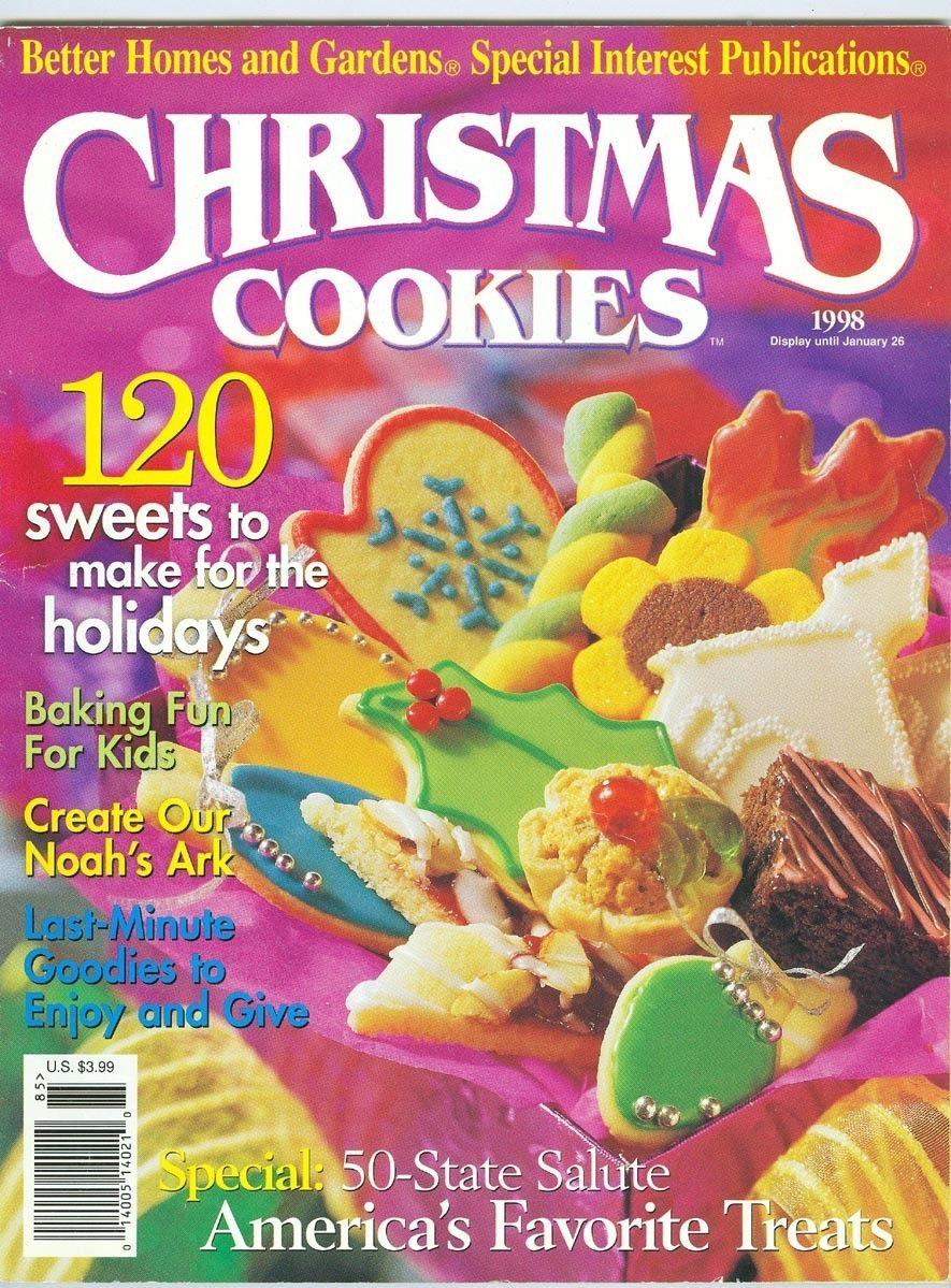 Better Homes And Gardens Christmas Cookies  120 Christmas Cookies Better Homes and Gardens 1998