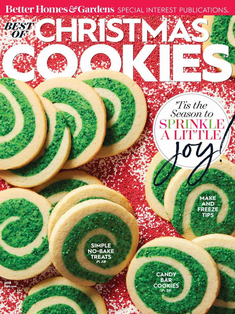 Better Homes And Gardens Christmas Cookies  Best of Better Homes & Gardens Christmas Cookies