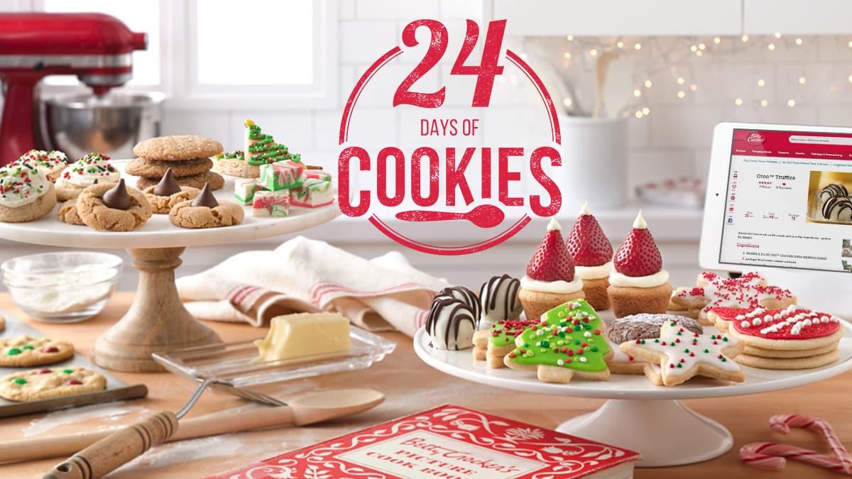 Betty Crocker Christmas Cookies  24 Days of Cookies BettyCrocker