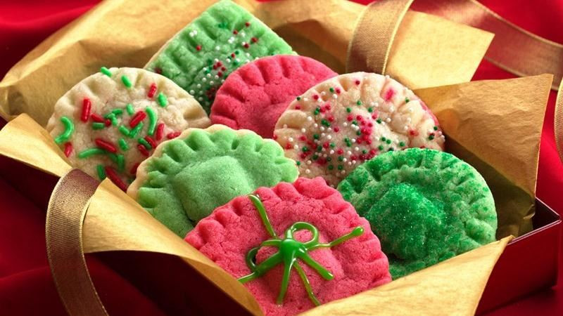 Betty Crocker Christmas Cookies  Christmas Surprise Sugar Cookies recipe from Betty Crocker