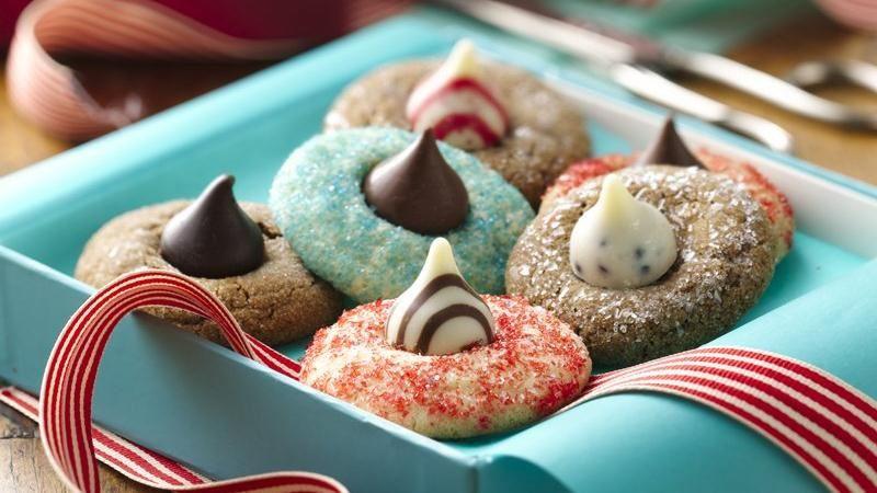 Betty Crocker Christmas Cookies  Holiday Blossom Cookies recipe from Betty Crocker