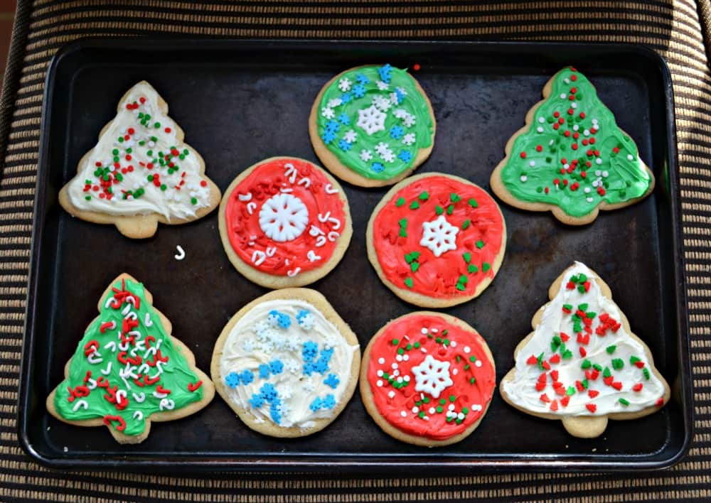 Betty Crocker Christmas Cookies  Easy Decorated Christmas Cookies with Betty Crocker Sugar