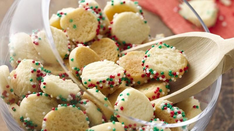 Betty Crocker Christmas Cookies  Mini Christmas Confetti Sugar Cookies recipe from Betty