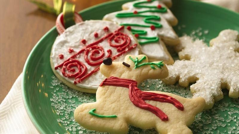 Betty Crocker Christmas Cookies  Christmas Sugar Cookie Cutouts recipe from Betty Crocker