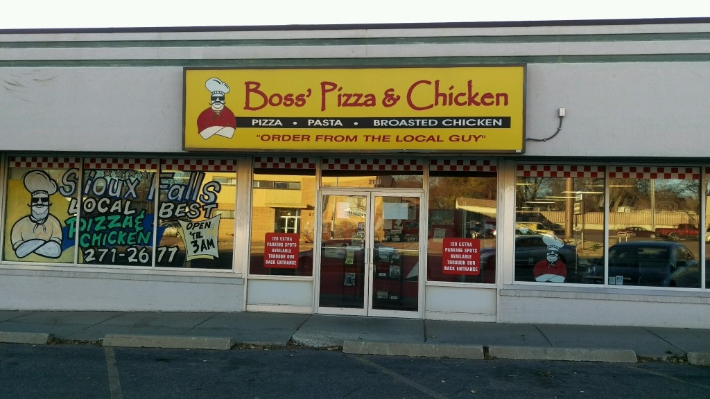 Boss Pizza And Chicken Sioux Falls  Boss Pizza & Chicken in Sioux Falls SD 605 271 2677