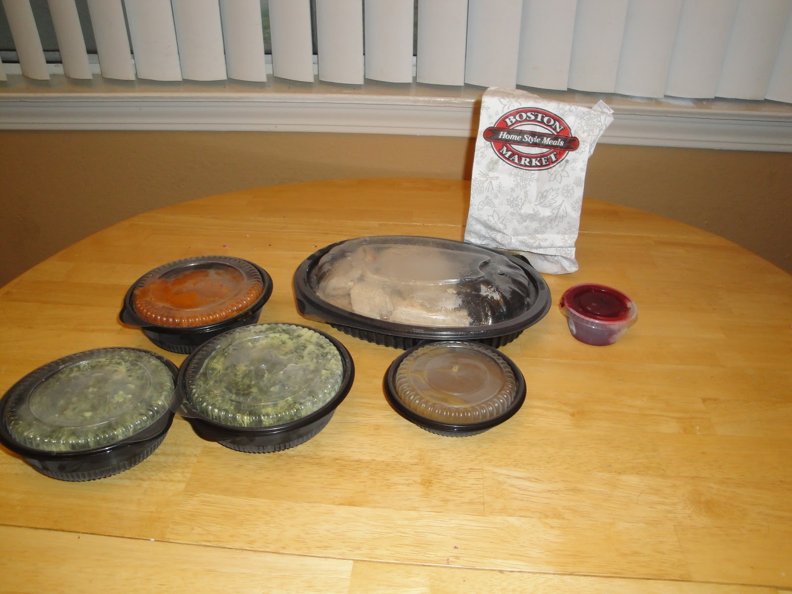 Boston Market Christmas Dinner  Boston Market Holiday Meals Review
