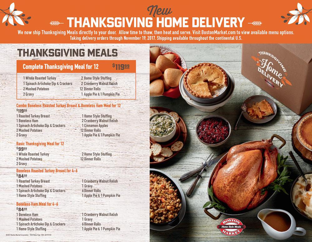 Boston Market Christmas Dinner  Boston Market Is Making Thanksgiving Day Wonderful For
