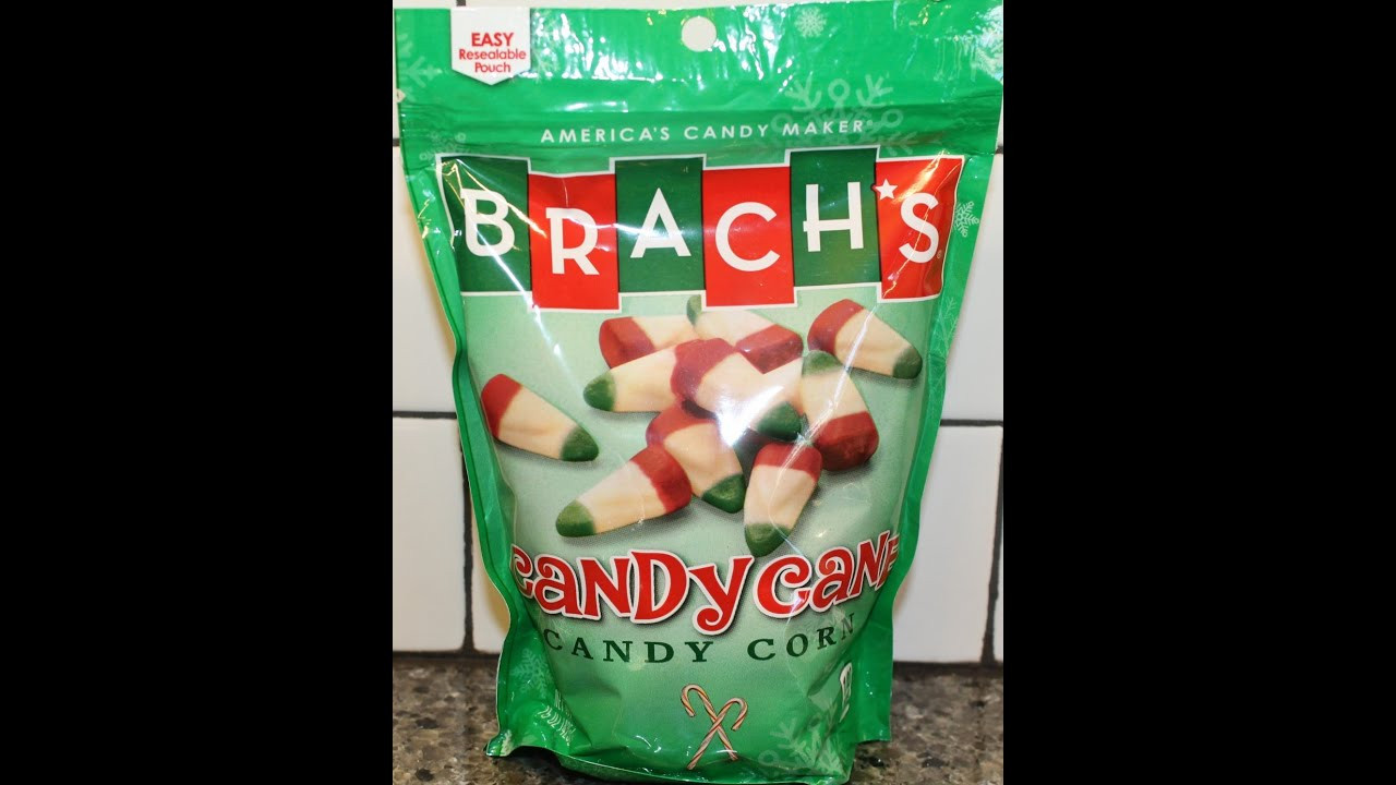 Brach Christmas Candy  Brach s Candy Cane Candy Corn Review Christmas