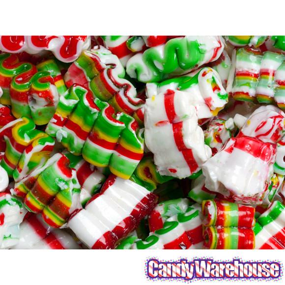 Brach Christmas Candy  Brach s Crimp Ribbon Hard Candy 9 5 Ounce Bag