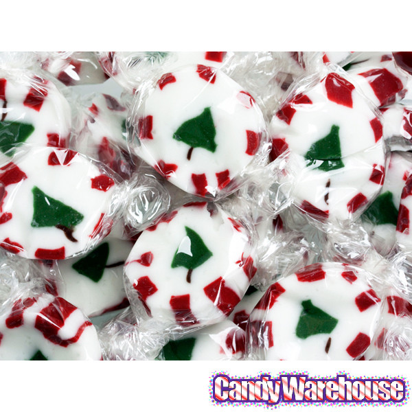 Brach Christmas Candy  Brach s Peppermint Christmas Tree Nougats 40 Piece Bag