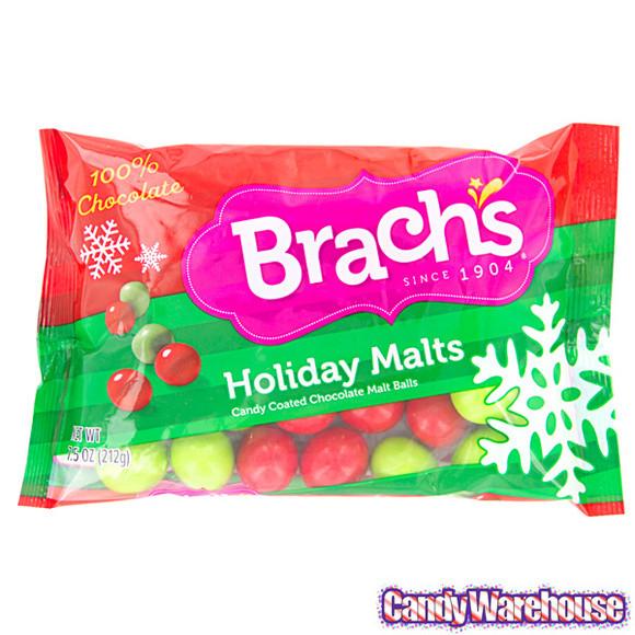 Brach Christmas Candy  Brach s Holiday Malts Candy 7 5 Ounce Bag