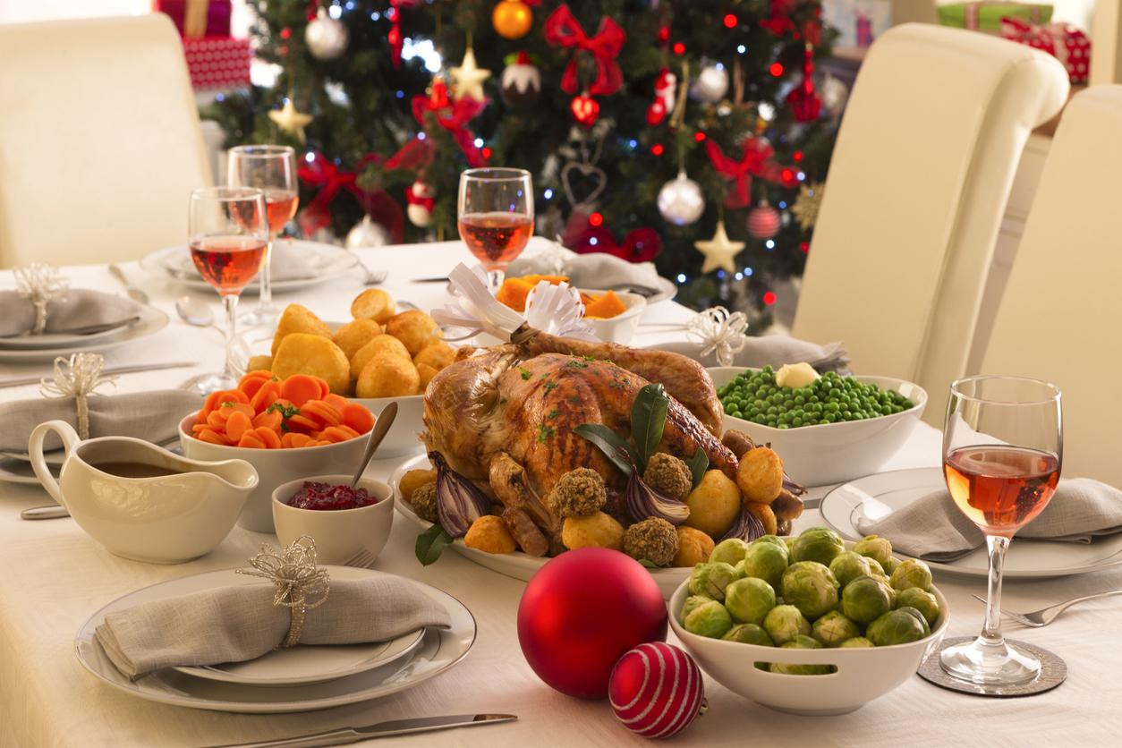 British Christmas Dinner  The average British person eats 6 000 calories on