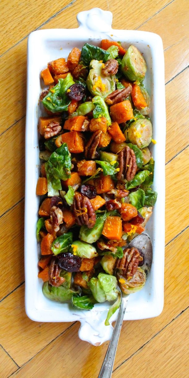 Brussels Sprouts Thanksgiving Side Dishes  45 Thanksgiving Side Dishes
