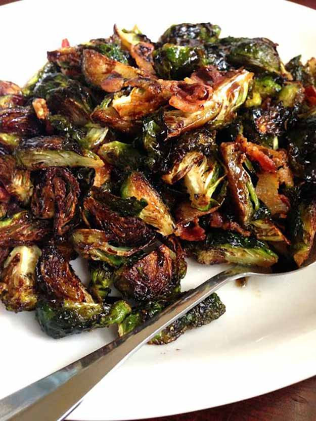 Brussels Sprouts Thanksgiving Side Dishes  9 Thanksgiving Side Dishes With Bacon