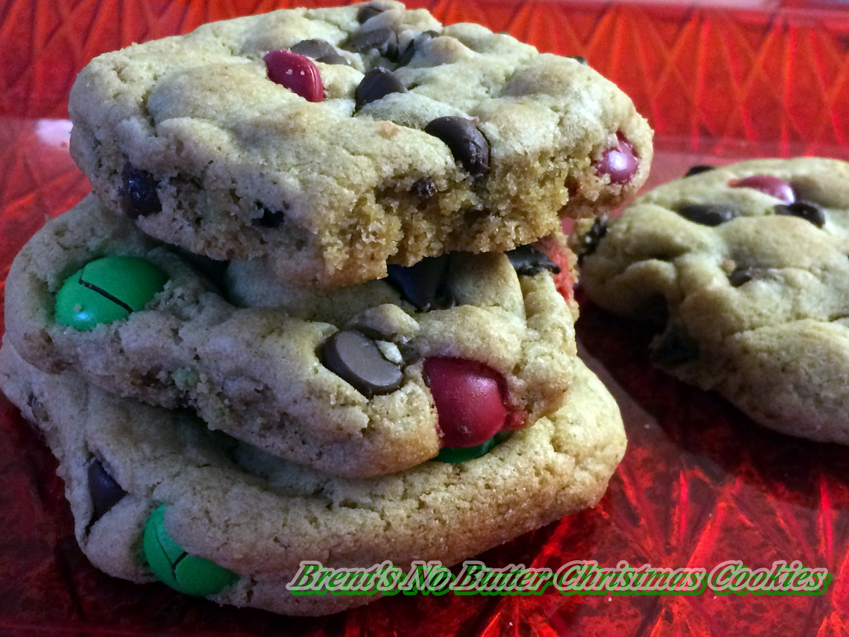 Butter Christmas Cookies  Brent's No Butter Christmas Cookies – Arl s World