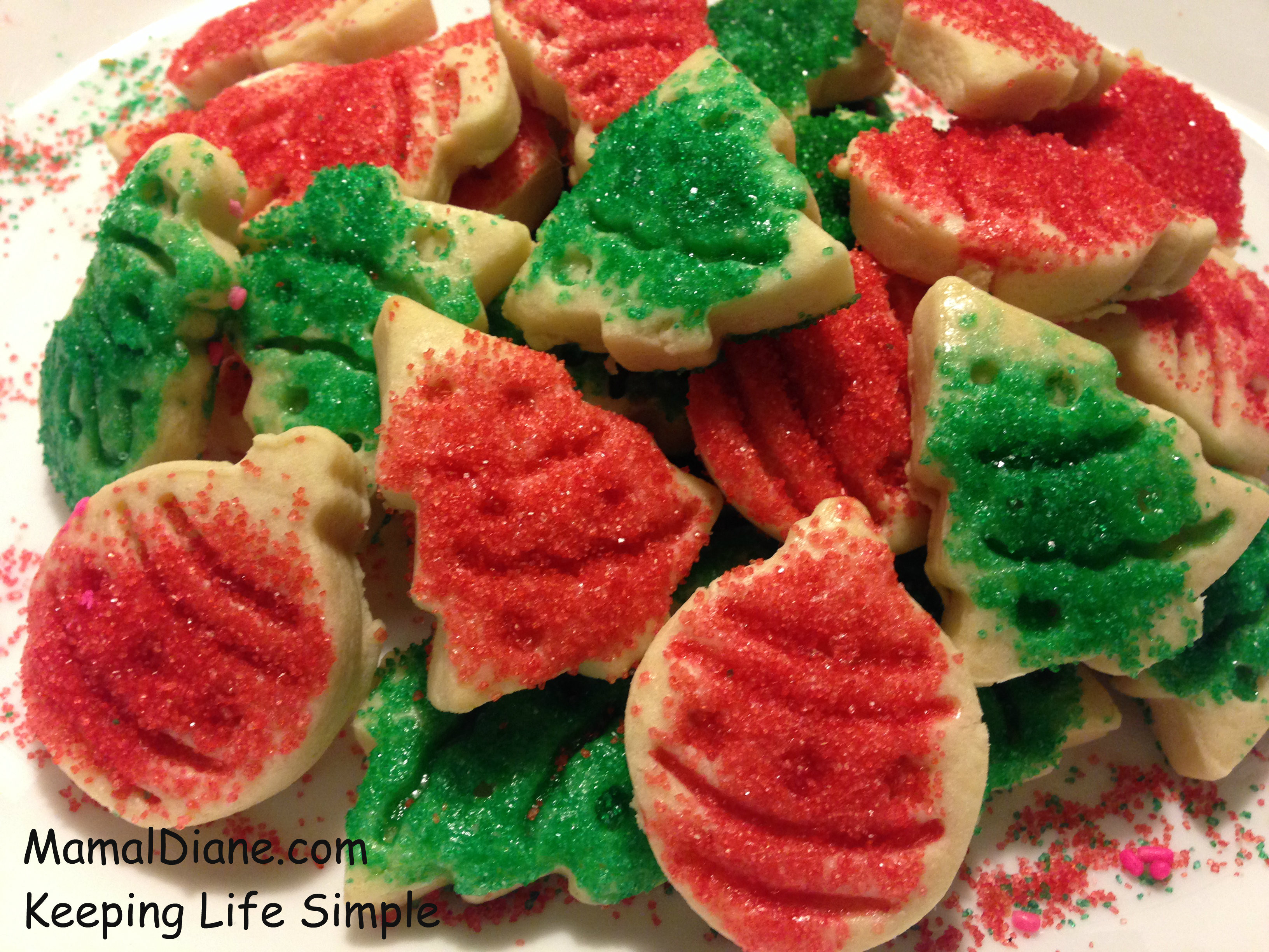 Butter Christmas Cookies  Cut out Holiday Butter Cookies – Mamal Diane