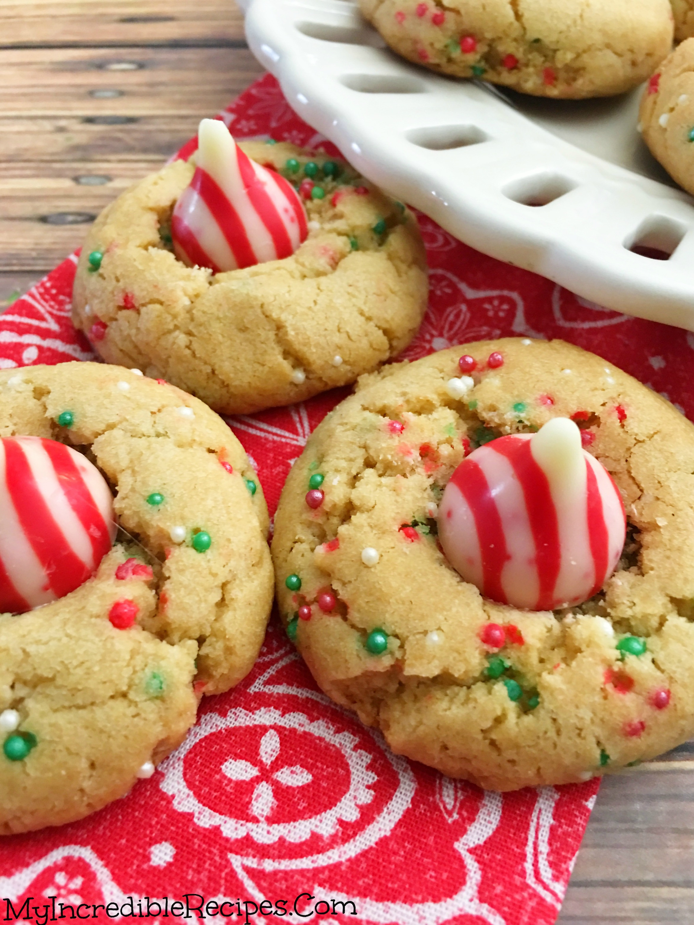 Butter Cookies Christmas  Peanut Butter Christmas Cookies