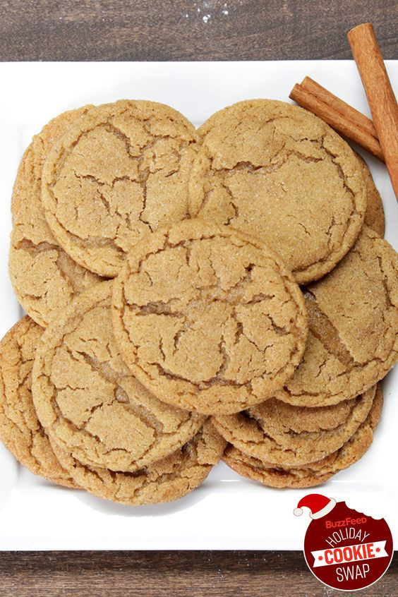Buzzfeed Christmas Cookies  Brown Butter Snickerdoodles