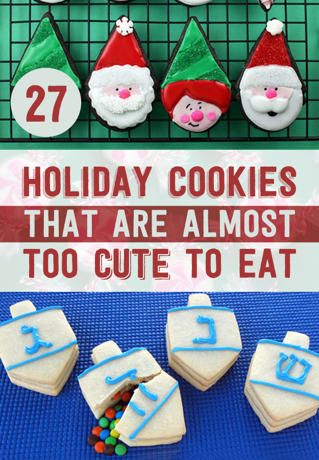 Buzzfeed Christmas Cookies  27 Holiday Cookies That Are Almost Too Cute To Eat