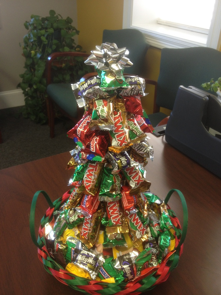 Candy Bar Christmas Tree  Pin by Whitney Pfeiffer on army