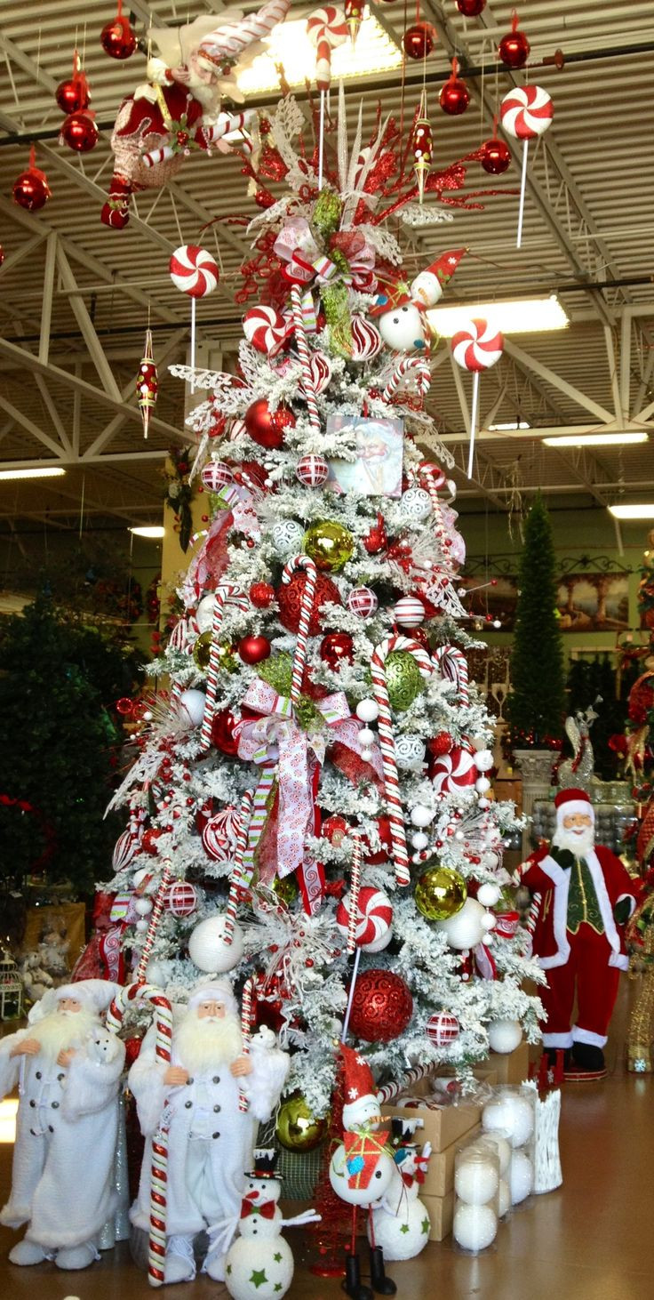 Candy Cane Christmas  Candy Cane Christmas Tree ARCADIA Christmas