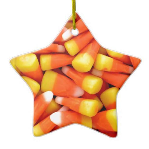 Candy Corn Christmas Tree  CANDY CORN CHRISTMAS TREE ORNAMENTS