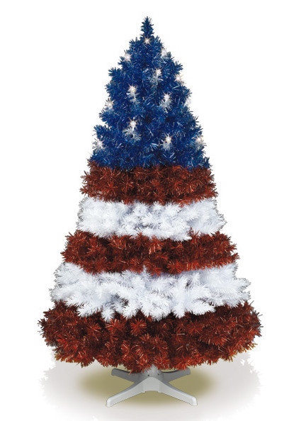 """Candy Corn Christmas Tree  Kandeeland The coolest """"undecorated"""" Christmas Trees"""