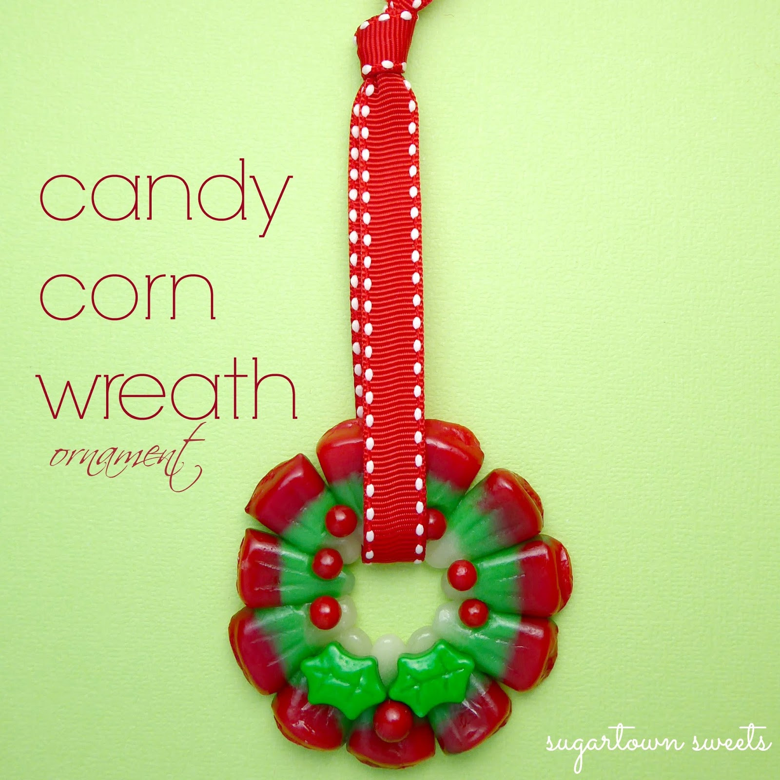 Candy Corn Christmas Tree  Sugartown Sweets Candy Corn Christmas Tree Pops