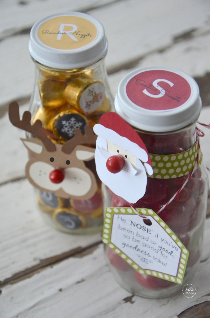 Candy Gifts For Christmas  Christmas Candy Gift The Idea Room