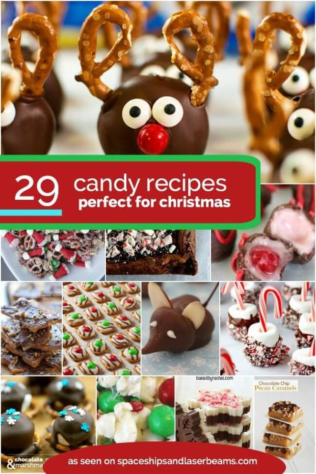 Candy Recipes For Christmas  29 Easy Christmas Cookie Recipe Ideas & Easy Decorations
