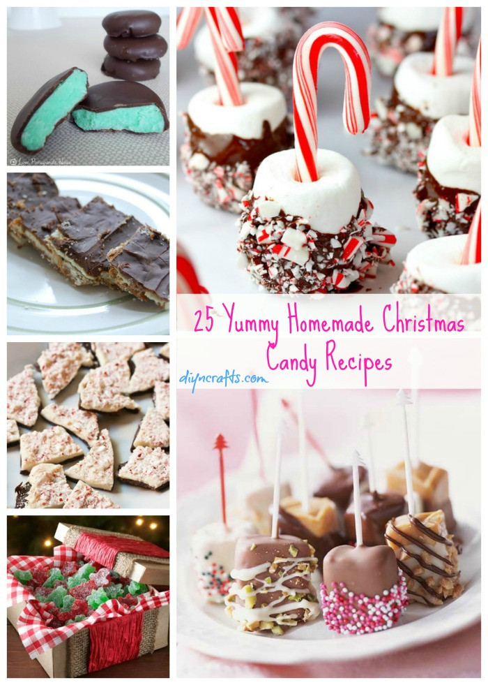 Candy To Make For Christmas  25 Yummy Homemade Christmas Candy Recipes DIY & Crafts