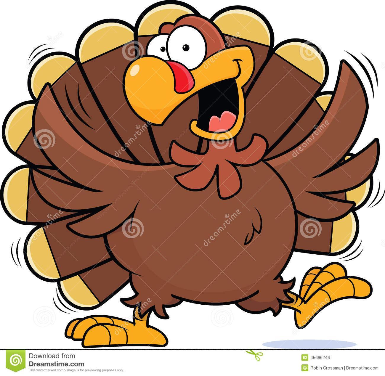 Cartoon Picture Of Turkey For Thanksgiving  Cartoon Happy Turkey stock vector Illustration of cartoon