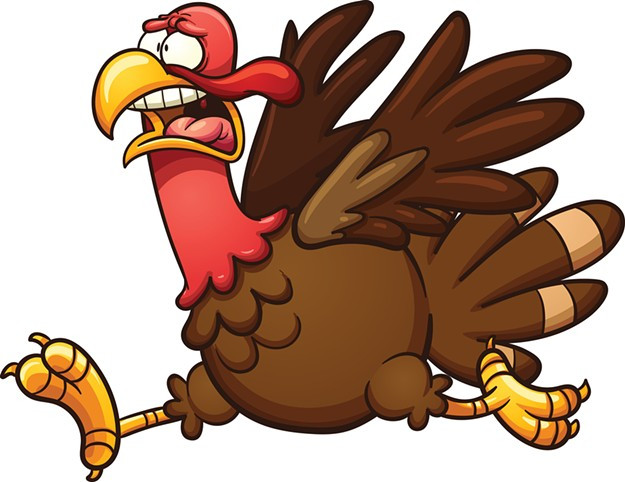 Cartoon Picture Of Turkey For Thanksgiving  Police Dispatch Police Dispatch