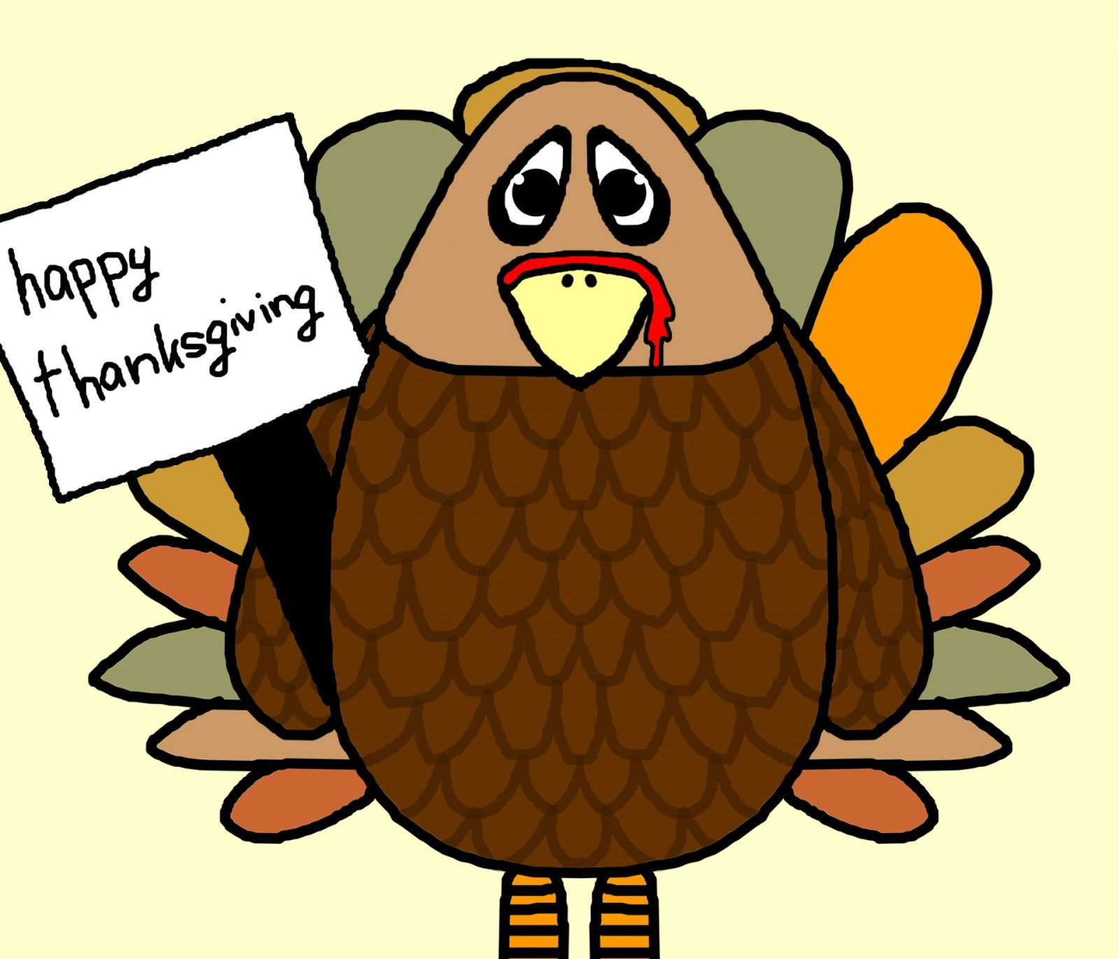 Cartoon Picture Of Turkey For Thanksgiving  Tech Tidbits