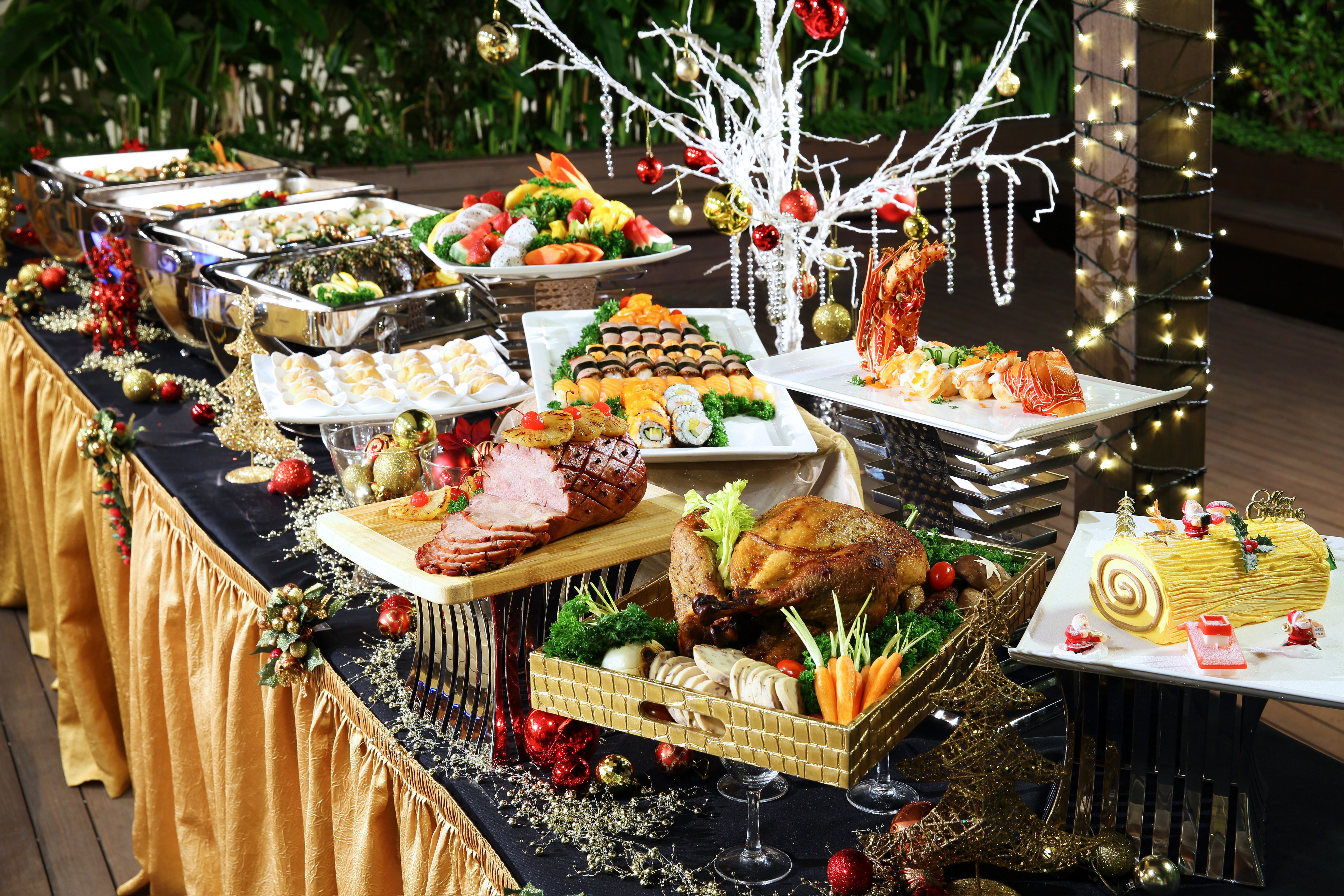 Catered Christmas Dinners  Fuss free Christmas feasting Weekender Singapore