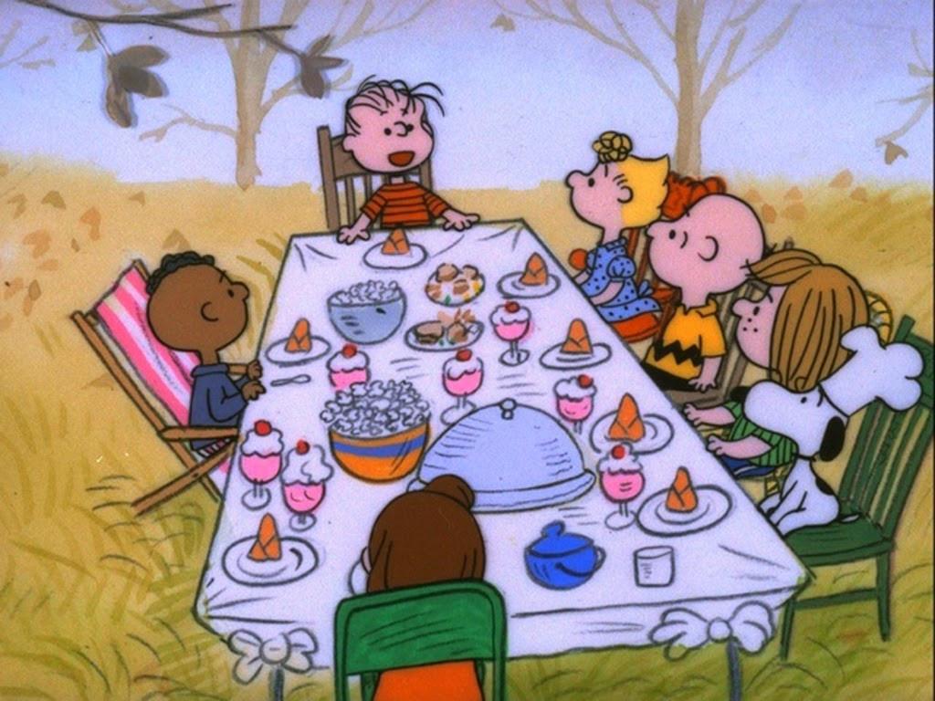 Charlie Brown Thanksgiving Dinner  Fiction Field Production II A Charlie Brown Thanksgiving