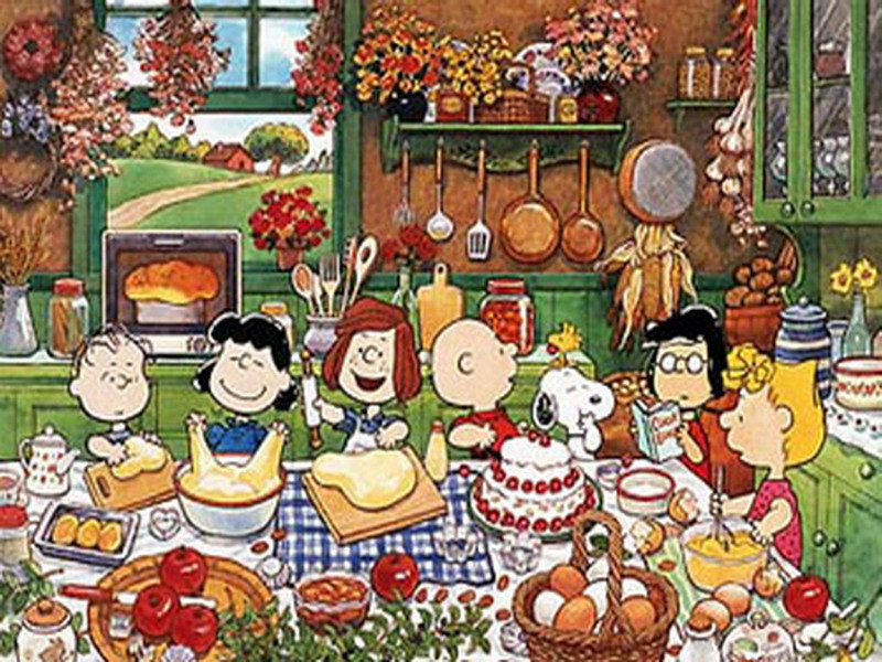 Charlie Brown Thanksgiving Dinner  The Most Sincere Pumpkin Patch