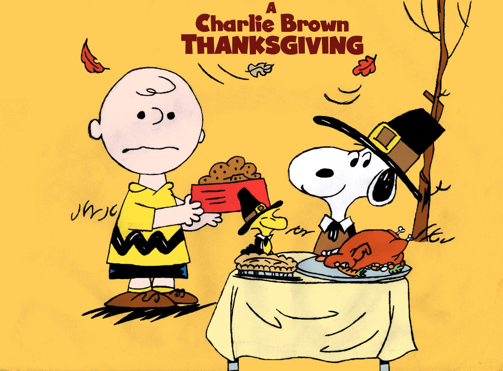 Charlie Brown Thanksgiving Dinner  Posted on November 21 2014 by Melissa Morell
