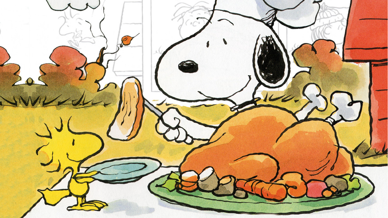 Charlie Brown Thanksgiving Dinner  3 Kids TV Specials to Watch For a Stoned Thanksgiving