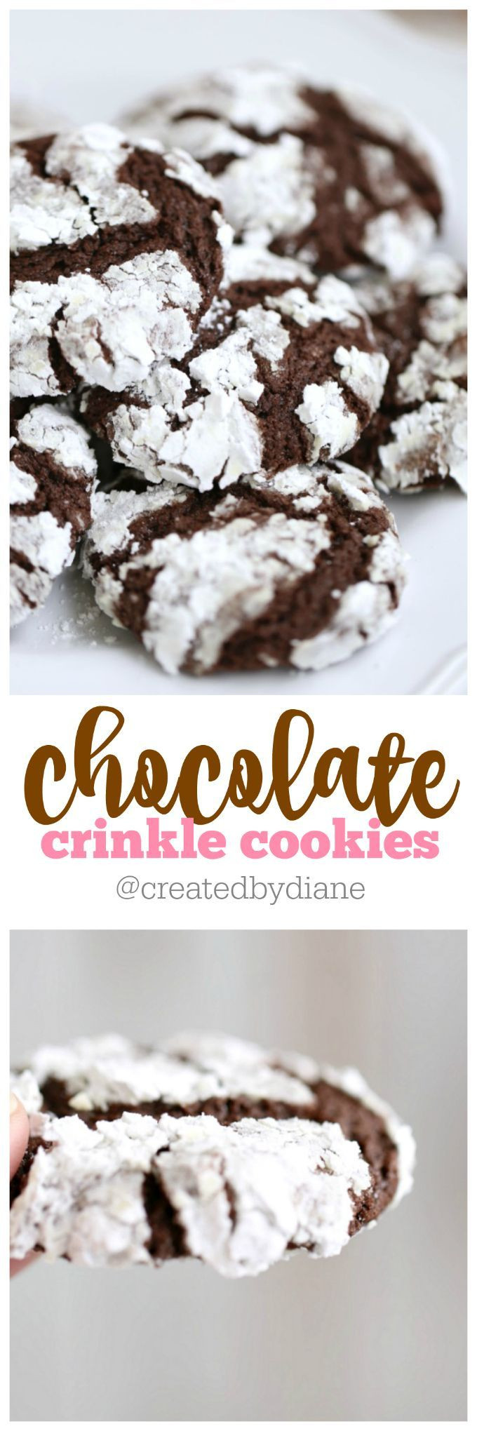 Chocolate Christmas Cookies With Powdered Sugar  25 best ideas about Powdered sugar on Pinterest