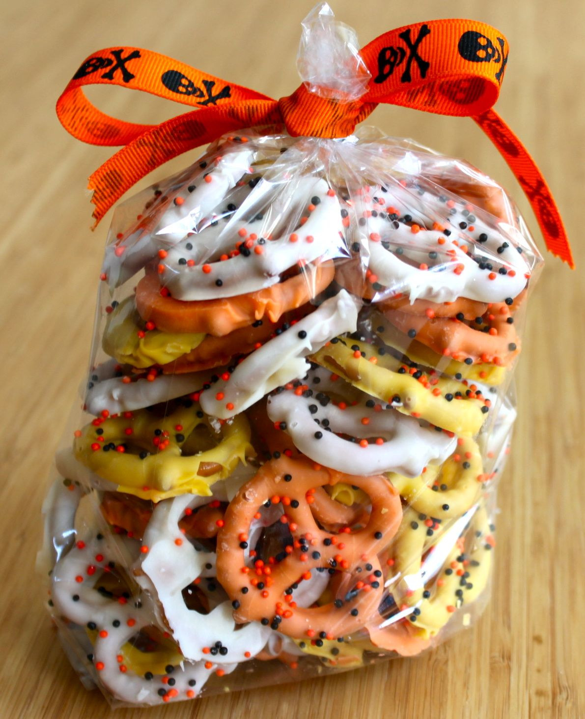 Chocolate Covered Pretzels Halloween  age appropriate activities for adults with disabilities