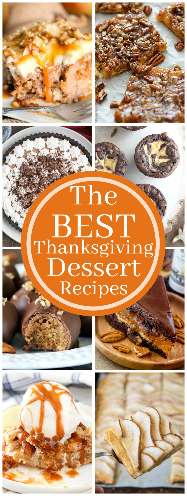 Chocolate Desserts For Thanksgiving  The Best Thanksgiving Dessert Recipes The Chunky Chef