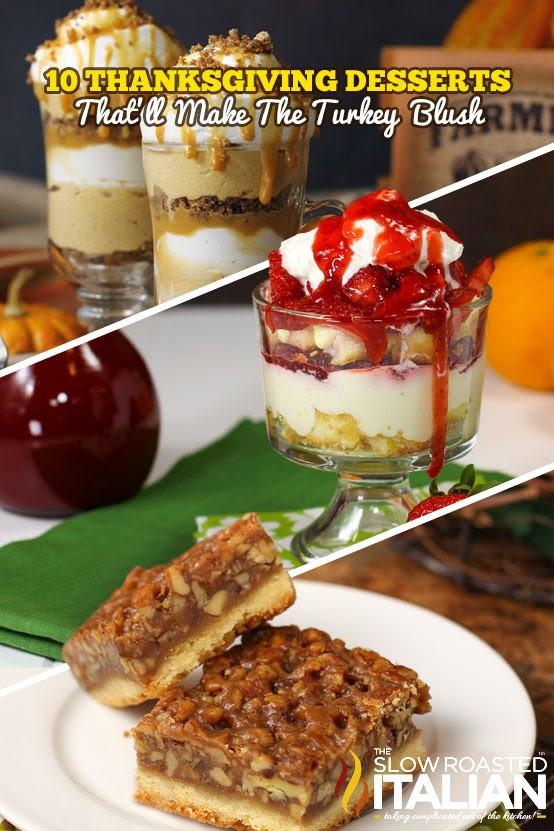 Chocolate Desserts For Thanksgiving  10 Thanksgiving Desserts That ll Make The Turkey Blush