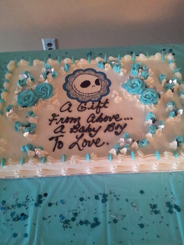 """Christmas Baby Shower Cakes  60 best """"Nightmare"""" Before Xmas Baby Shower images on"""