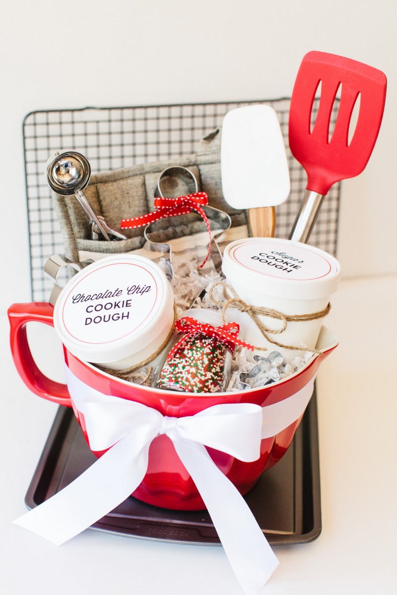 Christmas Baking Gift Ideas  Holiday Cookie Gift Basket