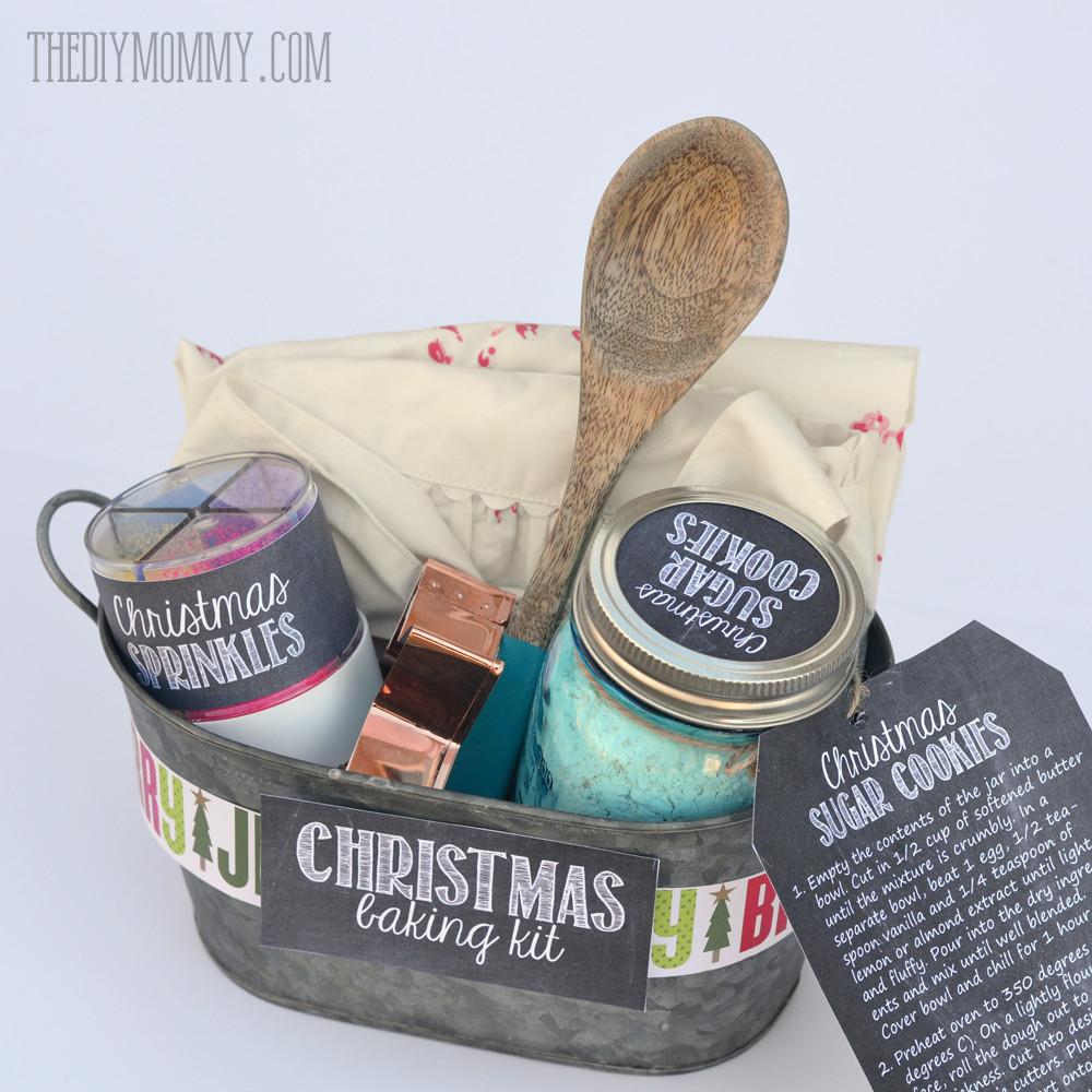 Christmas Baking Gift Ideas  A Gift in a Tin Christmas Baking Kit